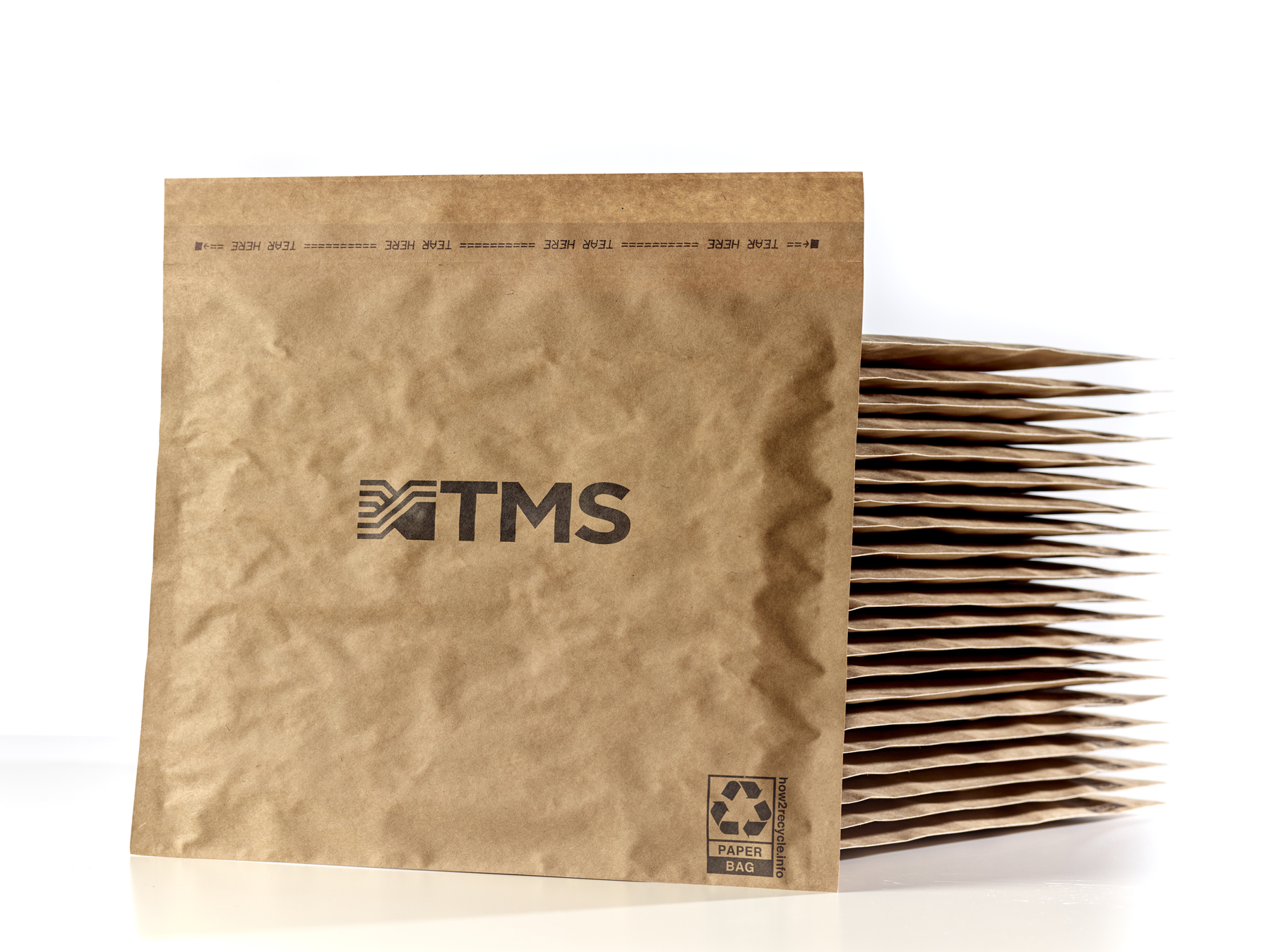 TMS paper mailers