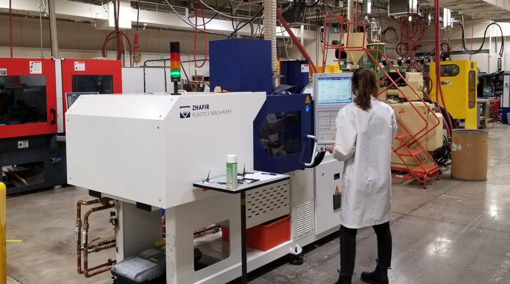 Absolute Haitian press allows Michigan university plastics lab to expand during pandemic