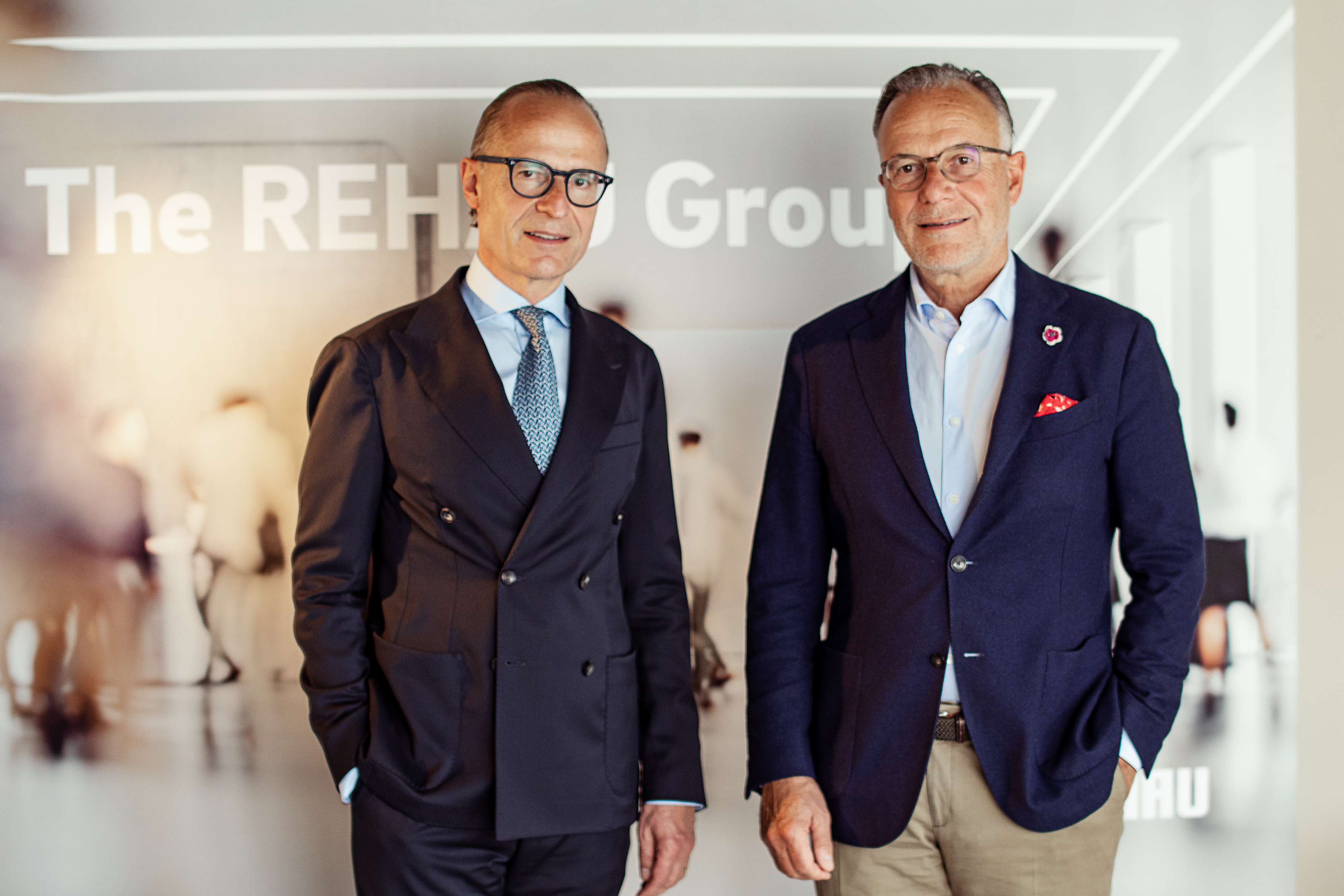 REHAU Foto_Dr. Veit Wagner and Jobst Wagner